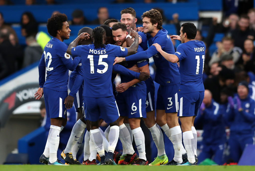Antonio Conte delighted with impact of Danny Drinkwater and Tiemoue Bakayoko on Chelsea