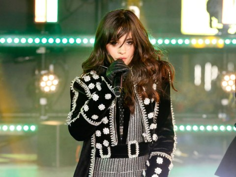 Camila Cabello defended by fans after 'air guitar' performance