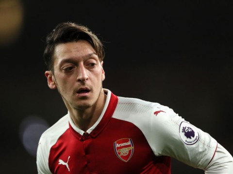 Mesut Ozil is a major injury doubt for Arsenal's Carabao Cup semi-final against Chelsea
