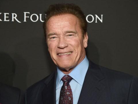Arnold Schwarzenegger returns home after undergoing heart surgery