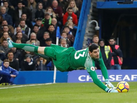 Thibaut Courtois says Chelsea fans must share blame for draw with Leicester