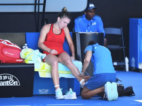 Simona Halep sparks fears of Australian Open withdrawal after ankle injury