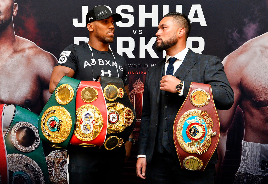 Anthony Joshua v Joseph Parker - Press Conference