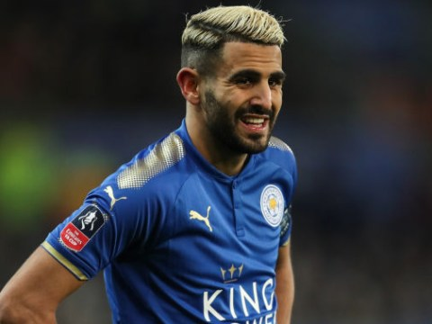Riyad Mahrez hands in transfer request as Manchester City make £60m move