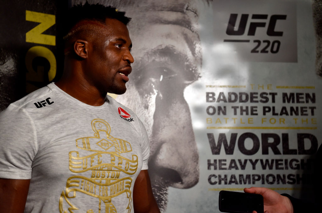 UFC 220 fight card, UK time, date, odds and TV channel for Miocic vs Ngannou and Cormier vs Oezdemir