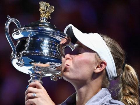 Caroline Wozniacki wins Australian Open and returns to world No. 1 with Simona Halep victory
