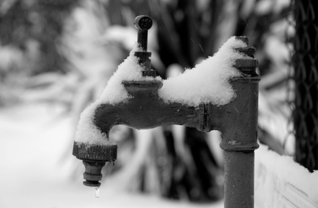 How can you tell if you pipes are frozen? (Picture: Getty)