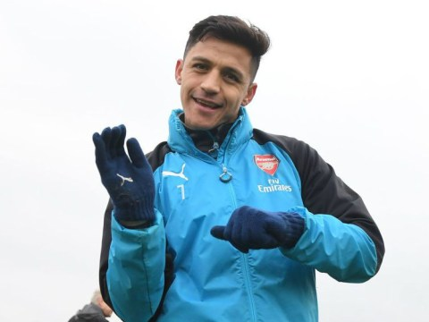 Alexis Sanchez joined in training by returning Arsenal duo ahead of Bournemouth clash