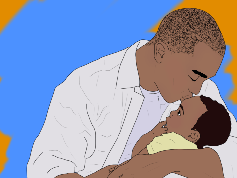 Father's Day is just a gimmick, but I'm still looking forward to my first one as a parent