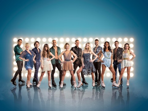 Who are this year's Dancing On Ice contestants and their skating partners?
