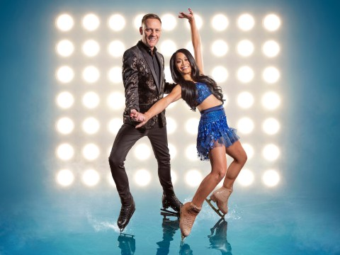 Antony Cotton gave co-star Samia Longchambon a pep-talk when she had a groin injury on Dancing On Ice