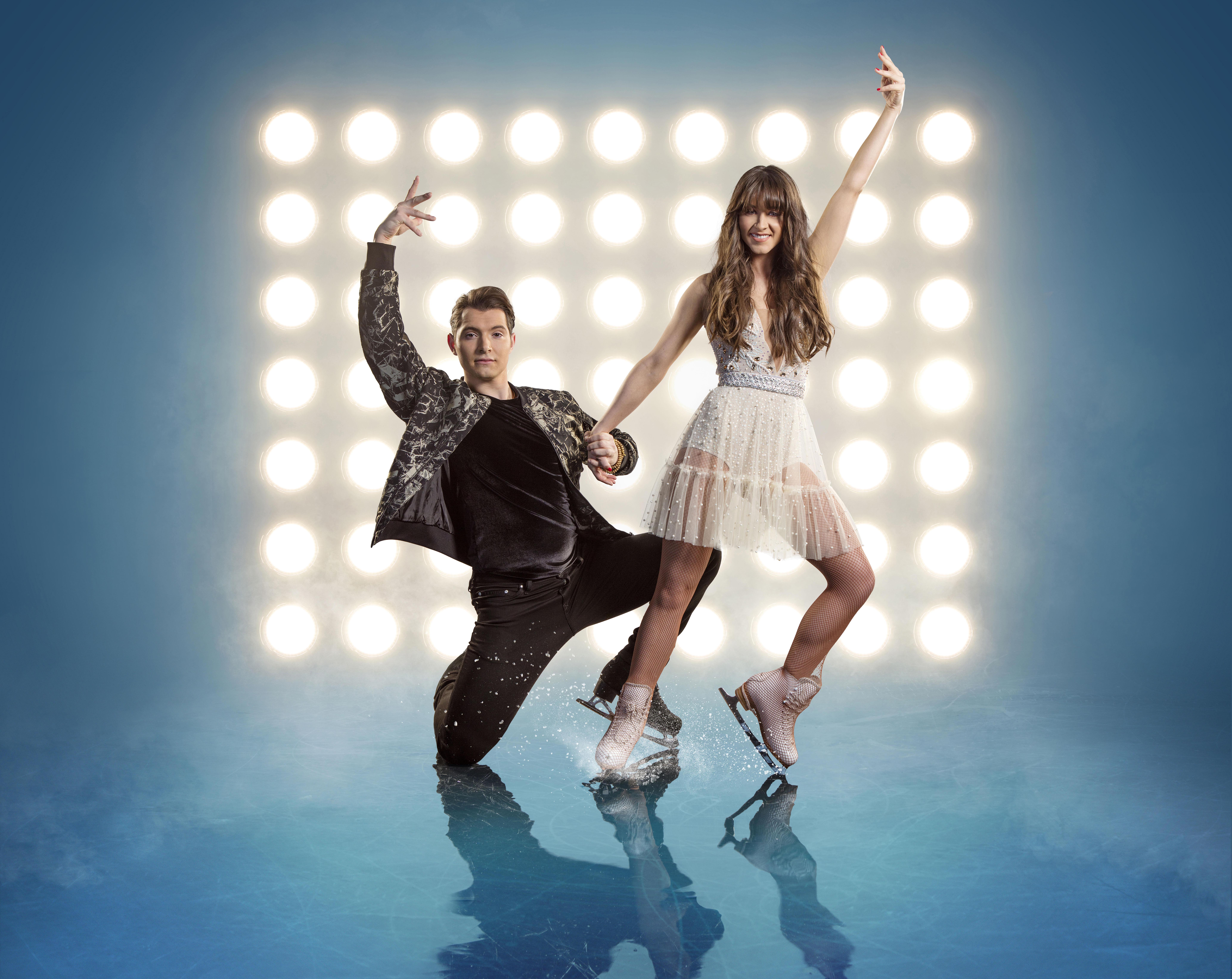 Dancing On Ice star Brooke Vincent had to pack in smoking while training for the show