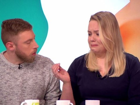 Girlfriend of UK's youngest Alzheimer's sufferer breaks down on live TV: 'It makes you feel sick'
