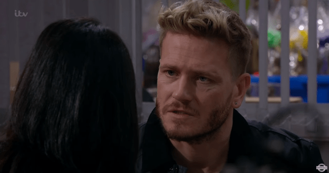 David tells Priya that he cheated on Tracy in Emmerdale