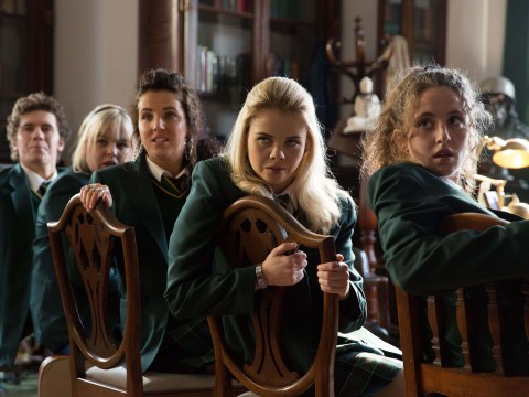 Who betrays the Derry Girls squad as they're hauled in front of the headmistress?