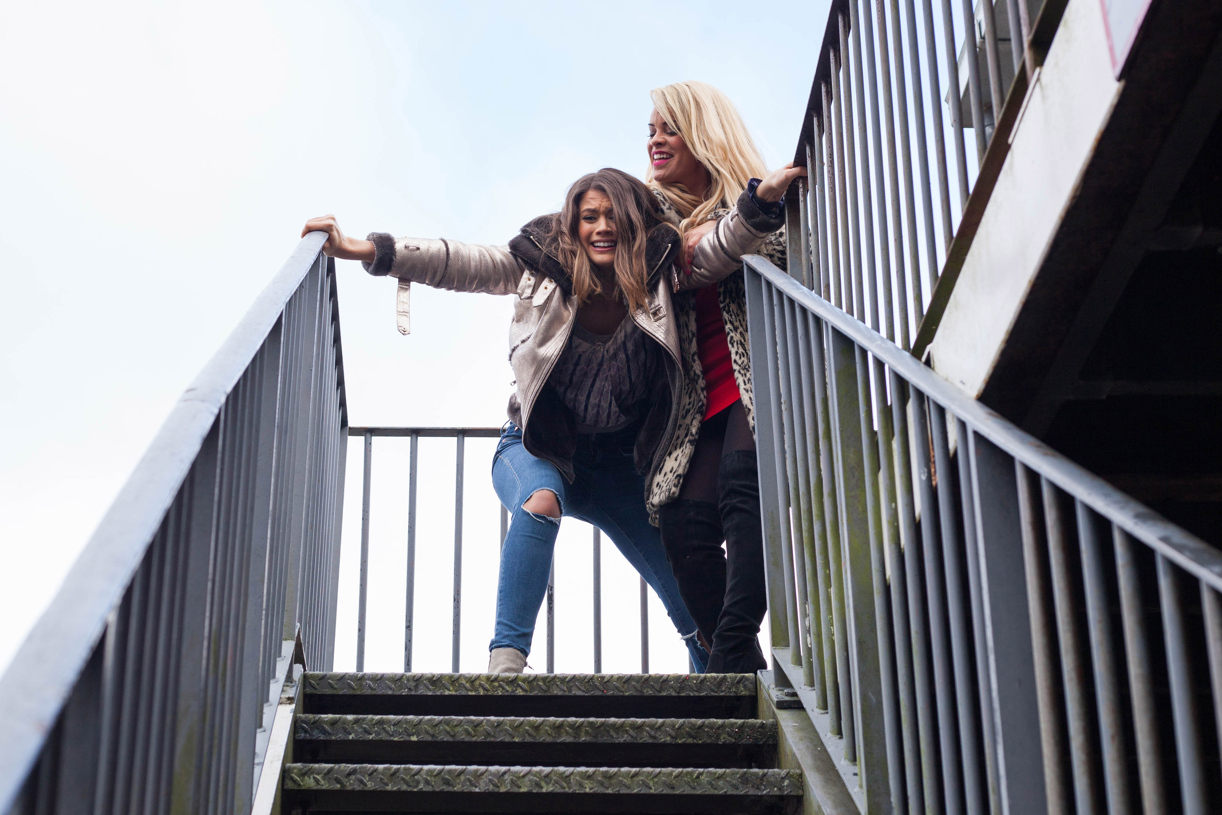 Grace plans to push Ellie in Hollyoaks