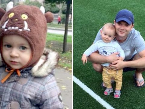 Toddler killed by suicidal man jumping from building