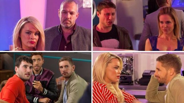 Hollyoaks spoilers for Grace, Cindy, Glenn, Milo, Damon, Buster, Scott, Brody and Maggie