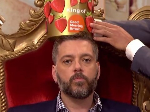 Iain Lee gets the crown he was denied on I'm A Celebrity as he claims 'Toff robbed me'