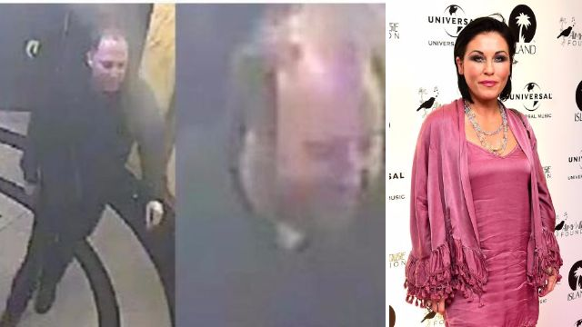 CCTV footage released of men wanted in connection with Jessie Wallace pub attack