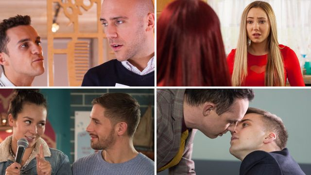 10 Hollyoaks spoilers: Goldie's shock discovery, James and Harry passion and Myra's big decision