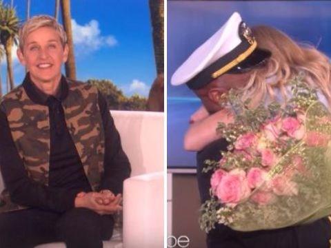 Birthday girl Ellen DeGeneres treats unsuspecting audience member to the sweetest surprise