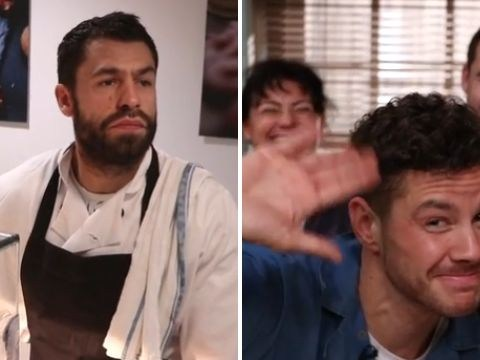 Adam Barton is re-cast in fun Emmerdale video as Andy Sugden returns too