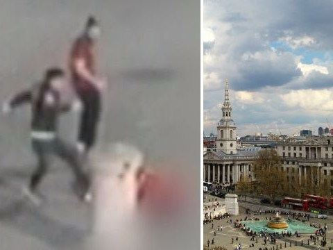 Murder probe launched as man dies six months after Trafalgar Square attack
