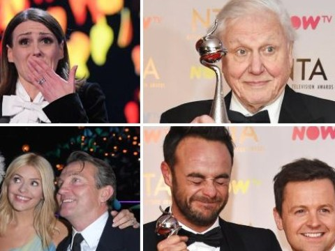 15 things that happened at the National TV Awards which you didn't see on TV