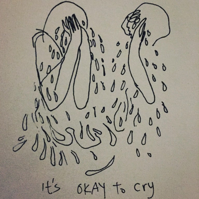 its alright to cry