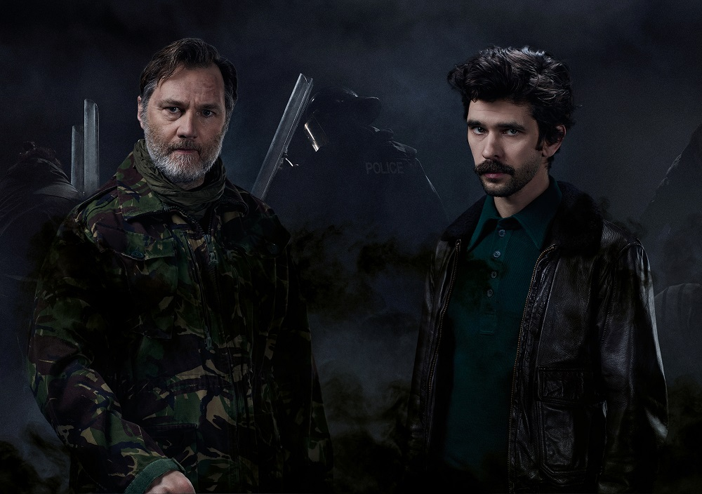 Julius Caesar starring Ben Whishaw and David Morrissey involves the audience in gruesome murder scenes