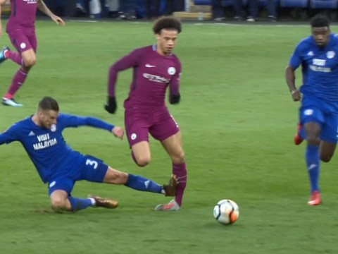Pep Guardiola confirms Leroy Sane injury after horror tackle in Manchester City's win over Cardiff