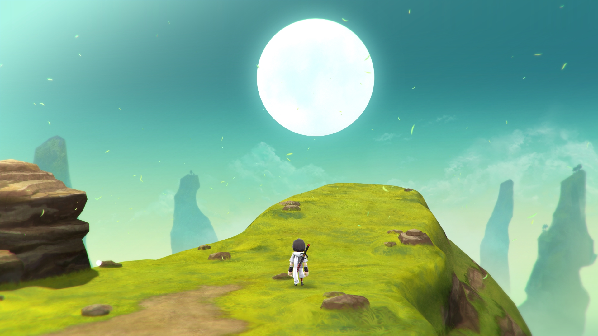Lost Sphear (PS4) - one foot in the past