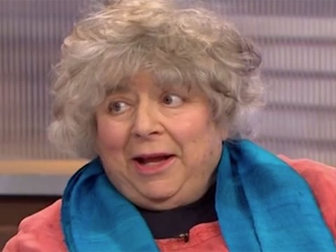 Miriam Margolyes just dropped a casual F-bomb on Peston On Sunday