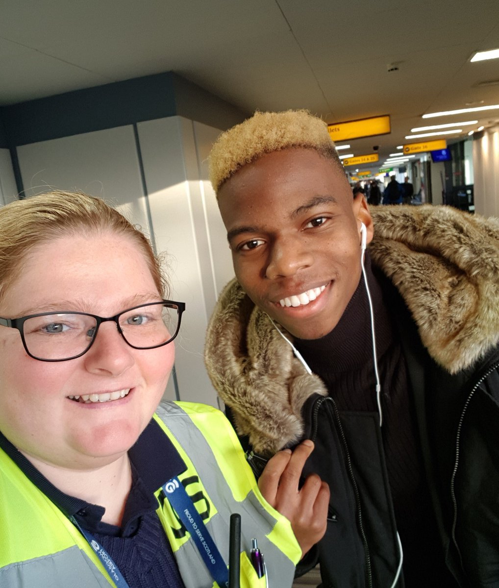 Chelsea's Charly Musonda touches down in Glasgow to complete Celtic loan move