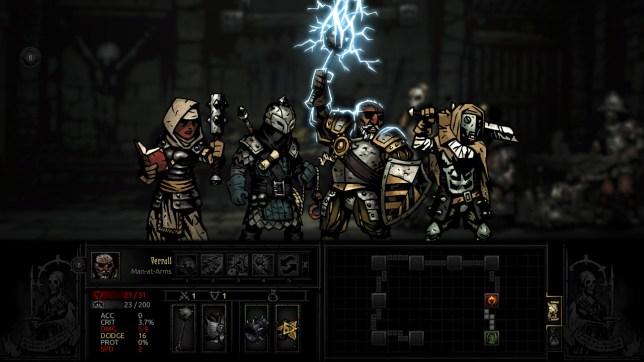 Darkest Dungeon (NS) - heroes never last