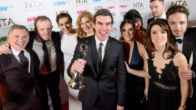 National TV Awards: Emmerdale keeps Best Soap crown but Coronation Street and EastEnders win prizes too