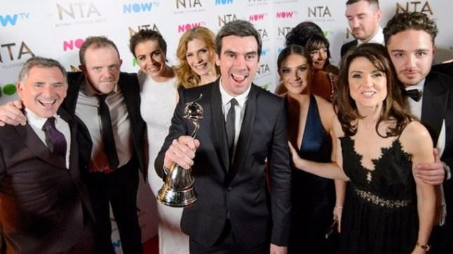 Emmerdale wins a National Television Award