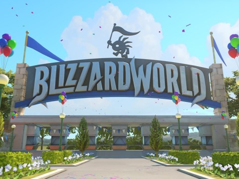 When is the Overwatch cosmetics update and Blizzard World map release date?