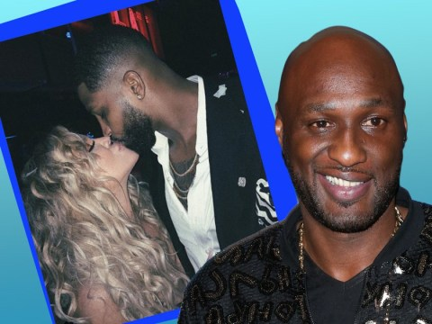 Khloe Kardashian's ex Lamar Odom parties with booze at New Year days after star reveals pregnancy