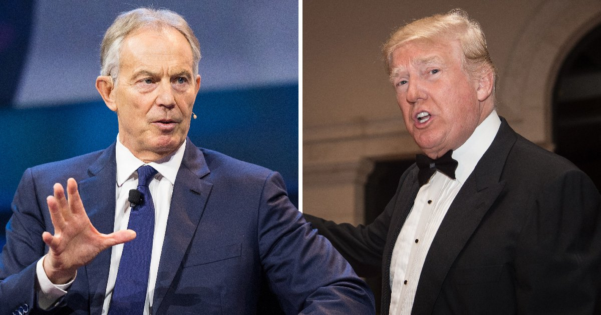 Tony Blair denies warning Trump that UK intelligence agencies may have spied on him