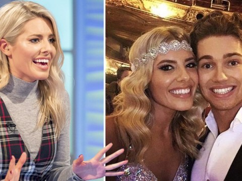 Mollie King has a word of warning for Dancing On Ice contestants after romance rumours with Strictly's AJ Pritchard