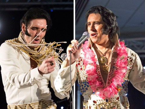 Elvis Presley tribute acts gather at Europe's biggest annual convention to celebrate The King