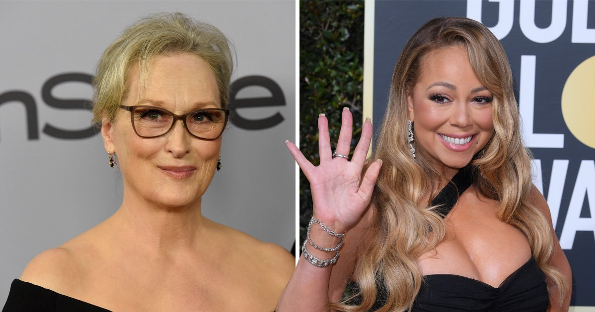 Mariah Carey stole Meryl Streep's seat at the Golden Globes because of course she did