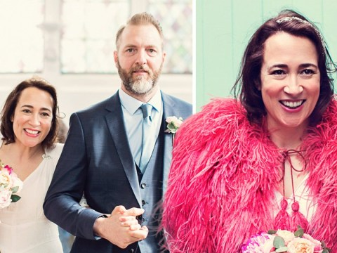 Newlywed diagnosed with breast cancer weeks after marrying her first Tinder date