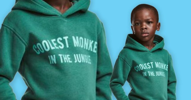 68a9f37a37fa Mother of H M child model defends  racist  hoodie on Facebook ...