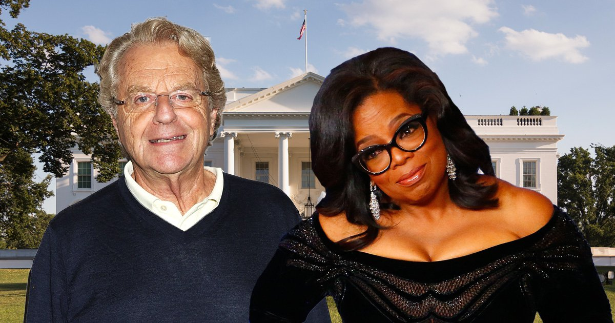 Jerry Springer says Oprah has what it takes to be the next President