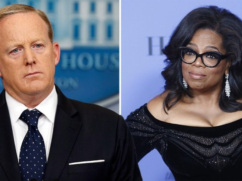 Sean Spicer just called Oprah too inexperienced to be president
