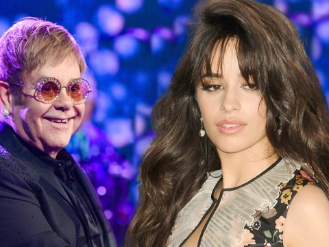 Elton John gives high praise to Camila Cabello and says 2018 is going to be her year