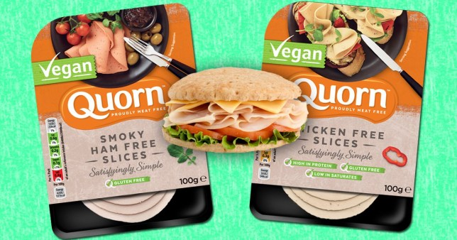 Quorn has launched two new vegan sandwich slices